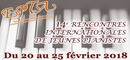 14e Rencontres internationales de jeunes pianistes